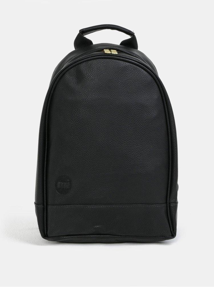 Černý batoh s jemným vzorem Mi-Pac XS Tumbled
