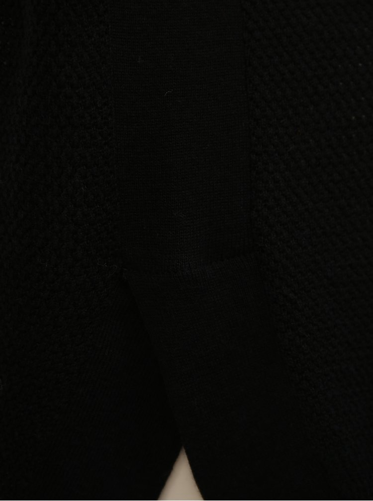 Černý lehký svetr s 3/4 rukávem VERO MODA  Sana