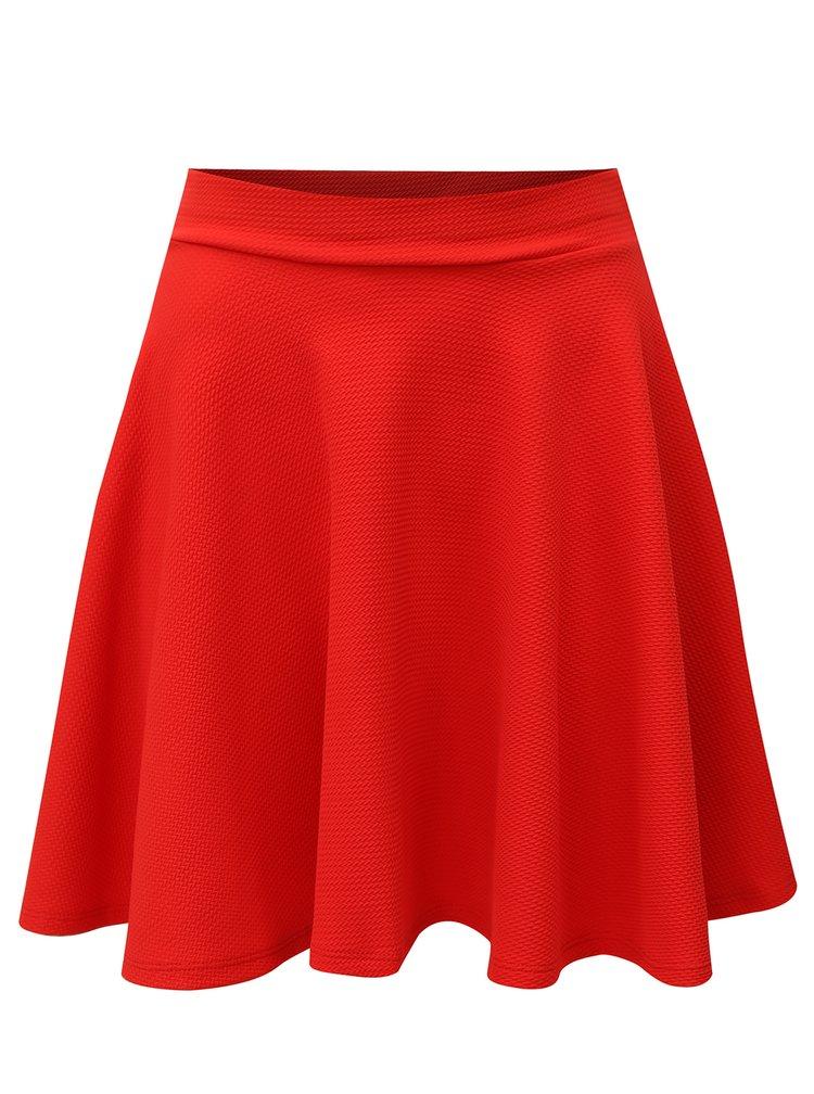Červená áčková sukně Haily´s Gina