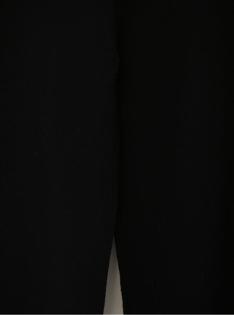 Černé maxišaty na ramínka a s rozparky Haily´s Marlotte