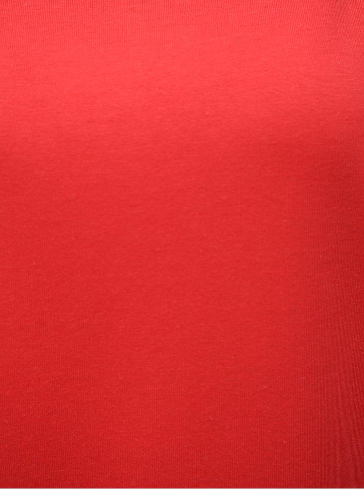 Červené volné tričko VILA Dreamers