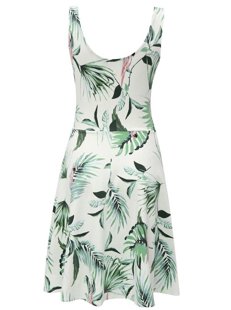 Zeleno-krémové vzorované šaty Dorothy Perkins Tall