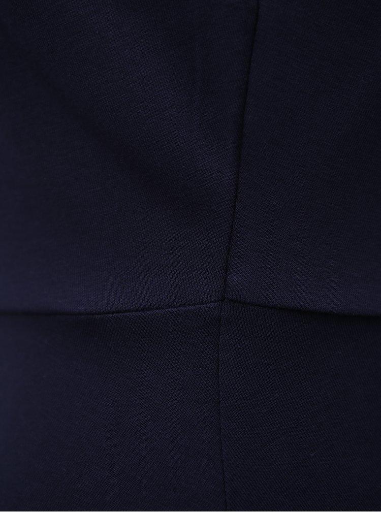 Tmavě modré šaty s límečkem Dorothy Perkins