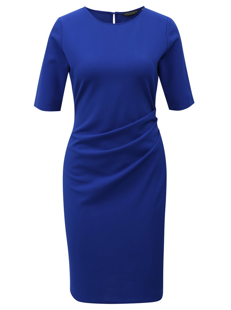 Modré pouzdrové šaty Dorothy Perkins