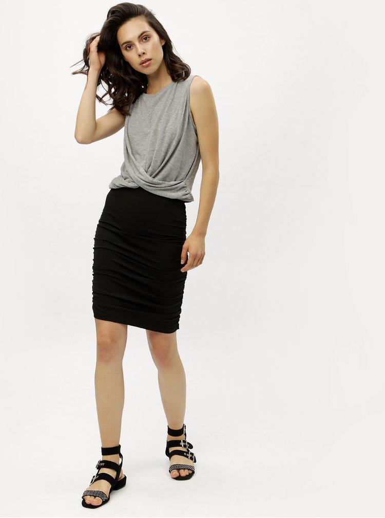 Čierna puzdrová sukňa Jacqueline de Yong