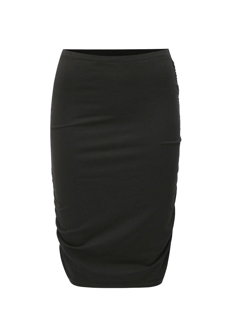 Černá pouzdrová sukně Jacqueline de Yong