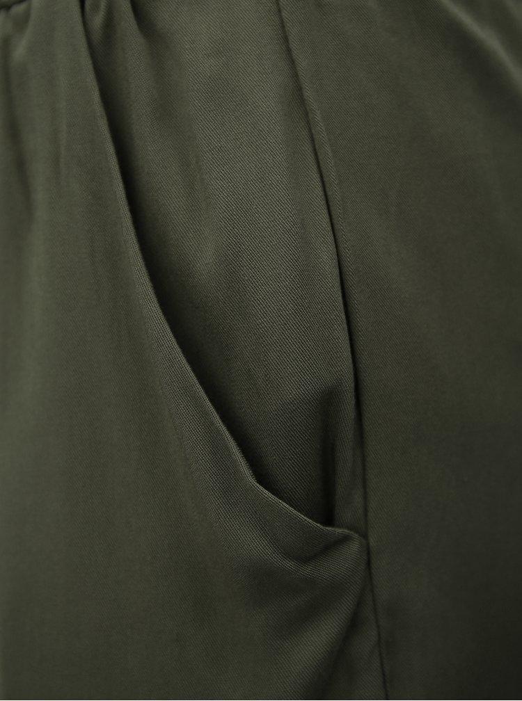 Khaki kraťasy se zavazováním Haily´s Lucia