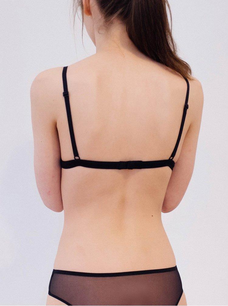 Černé průsvitné kalhotky Nalu Underwear
