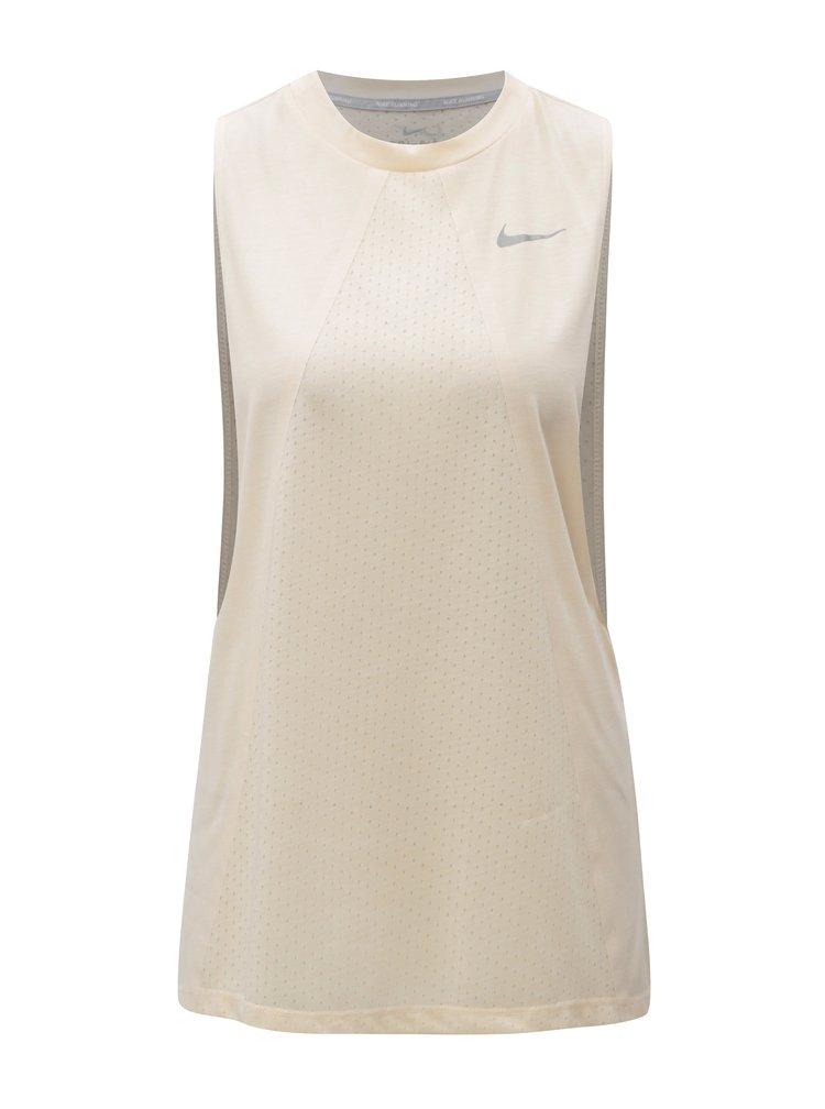 Maiou de dama functional oversize roz piersica Nike Tailwind Tank Cool