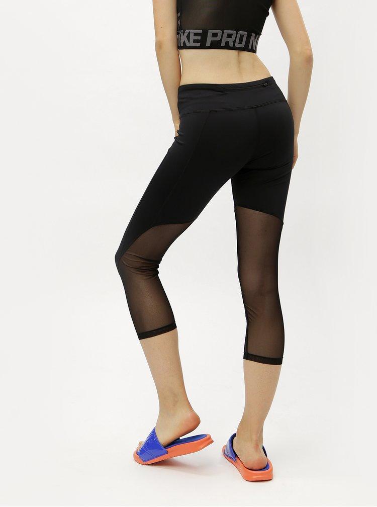 Černé dámské funkční 3/4 legíny Nike Racer Cool Crop