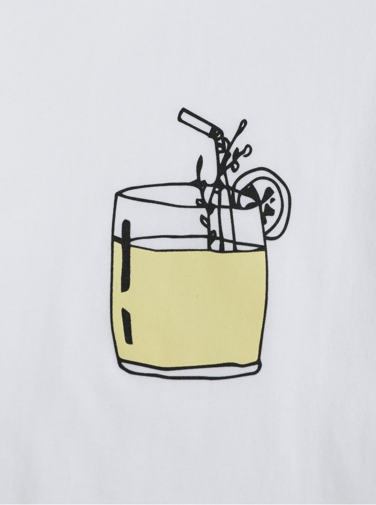 Tricou de dama alb ZOOT Original Drink