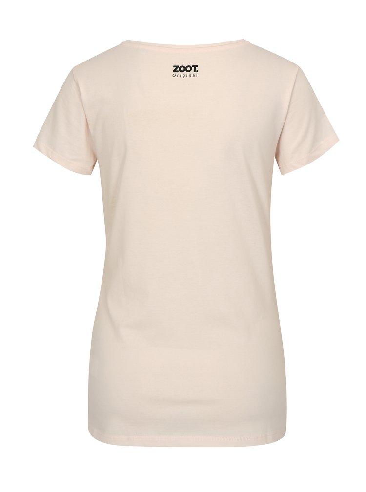 Růžové dámské tričko ZOOT Original Drink