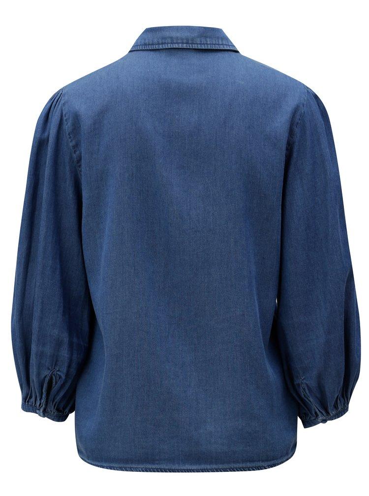 Modrá džínová košile VILA Bista
