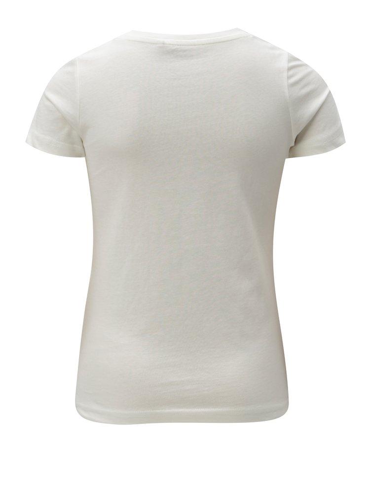 Krémové holčičí tričko LIMITED by name it Kamma