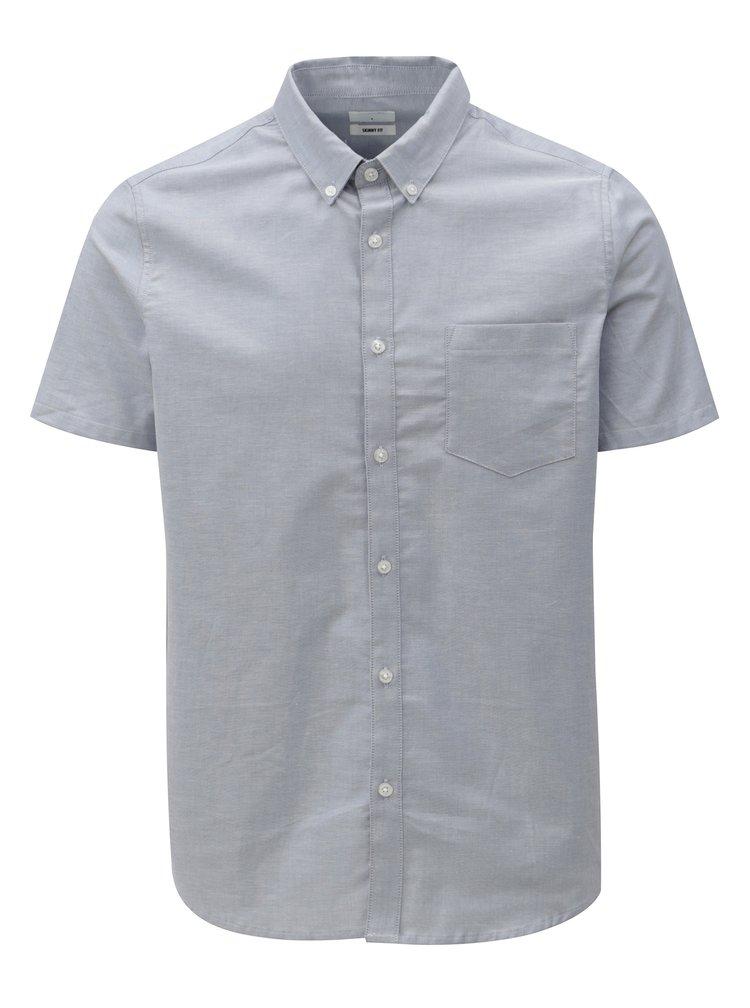 Světle modrá skinny fit košile Burton Menswear London