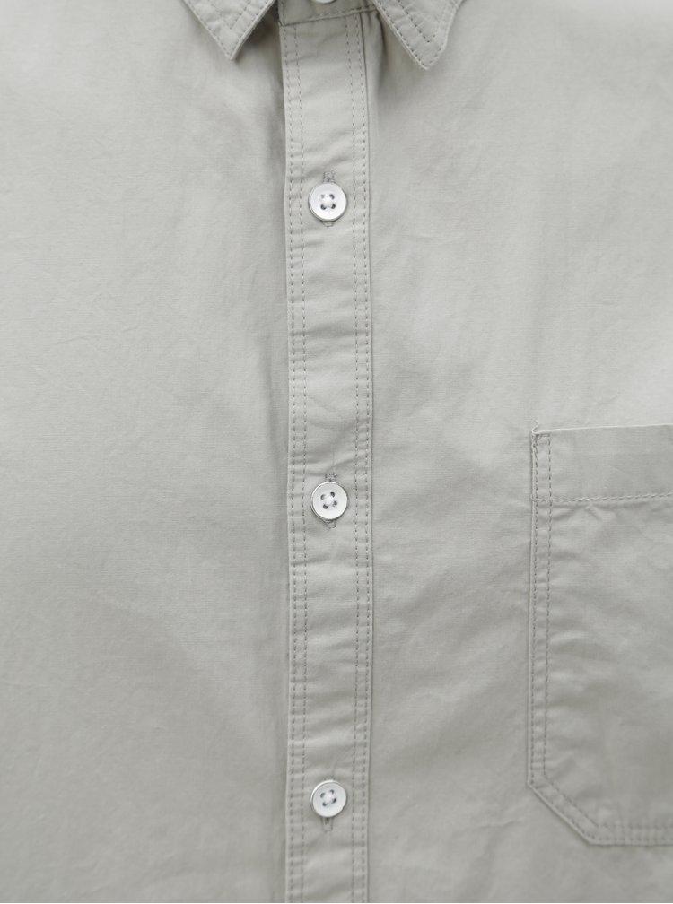 Svetlosivá košeľa Burton Menswear London