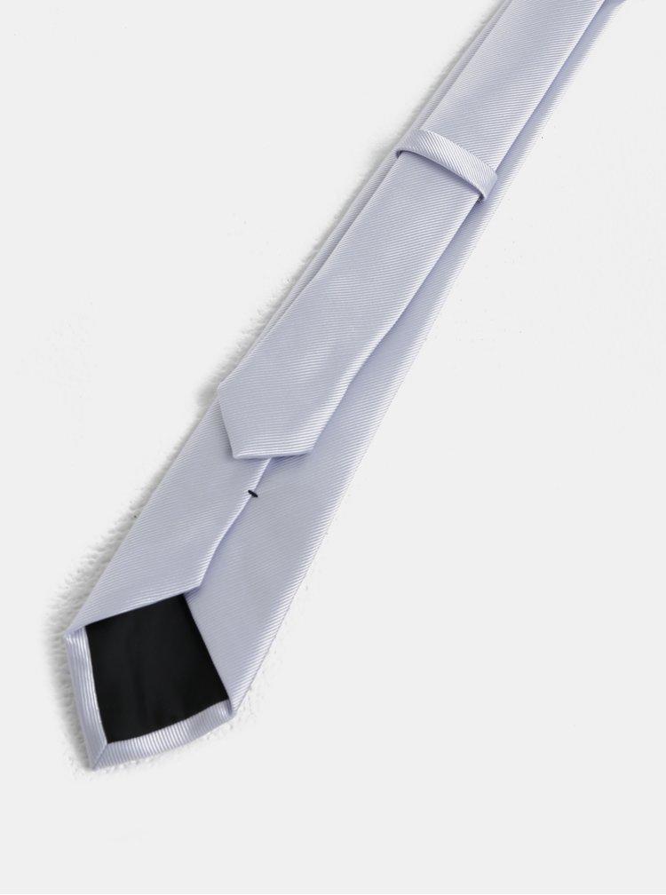 Světle šedá kravata Burton Menswear London