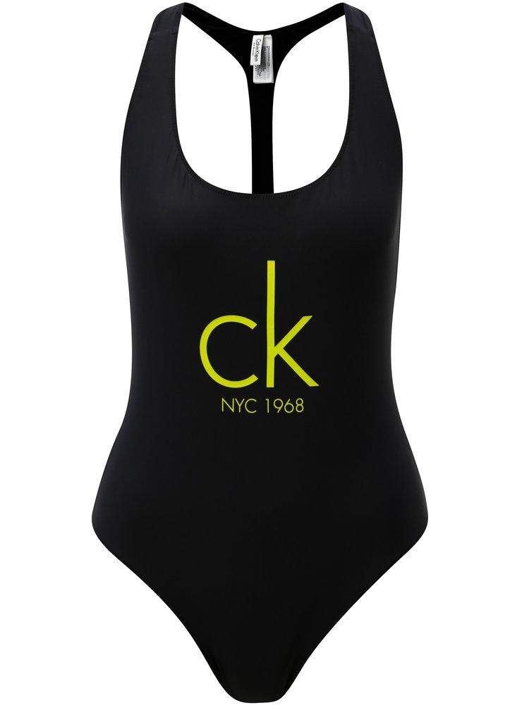 Costum de baie negru Calvin Klein Underwear