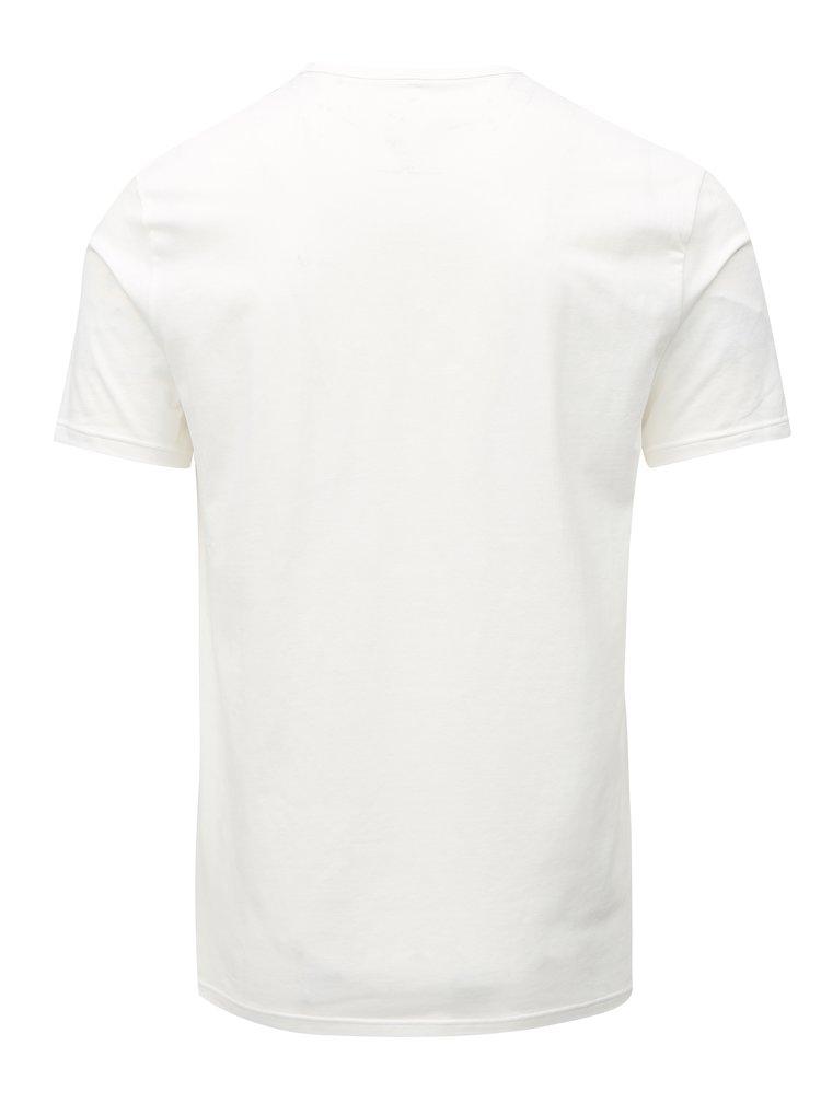 Sada dvou bílých slim fit triček pod košili Calvin Klein Underwear