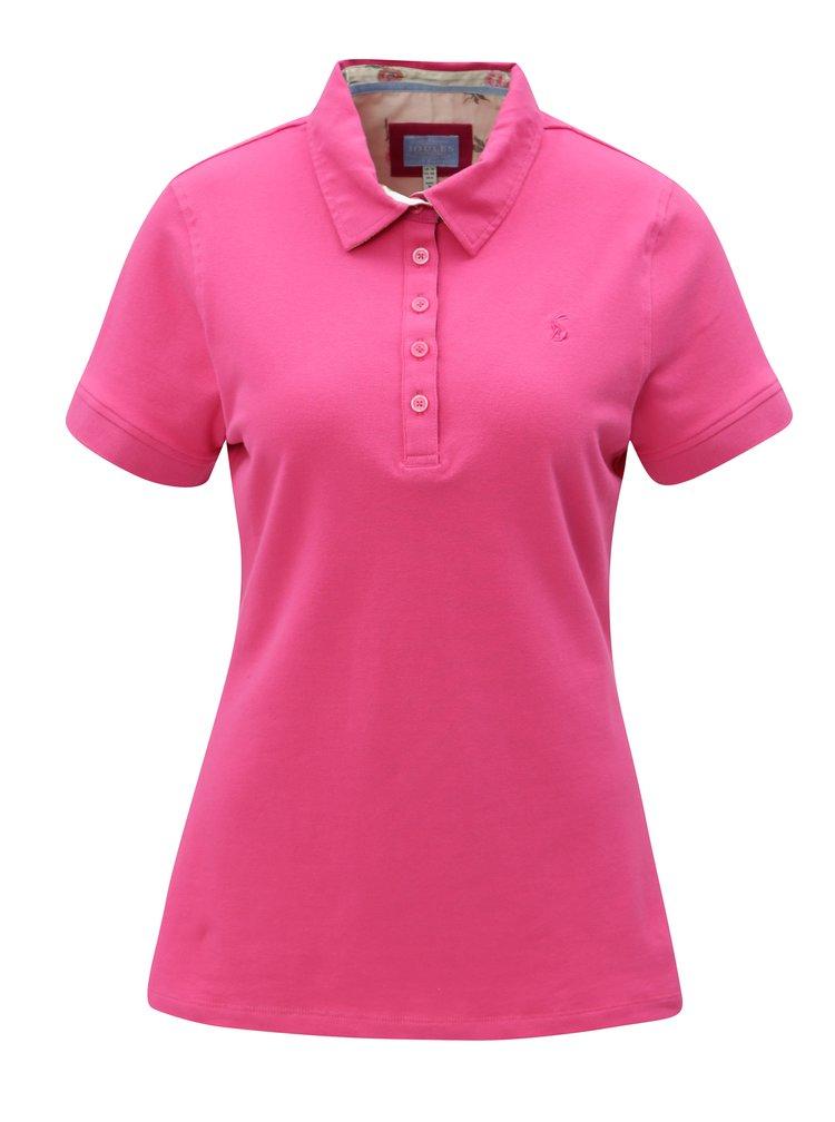 Růžové dámské polo tričko Tom Joule Pippa