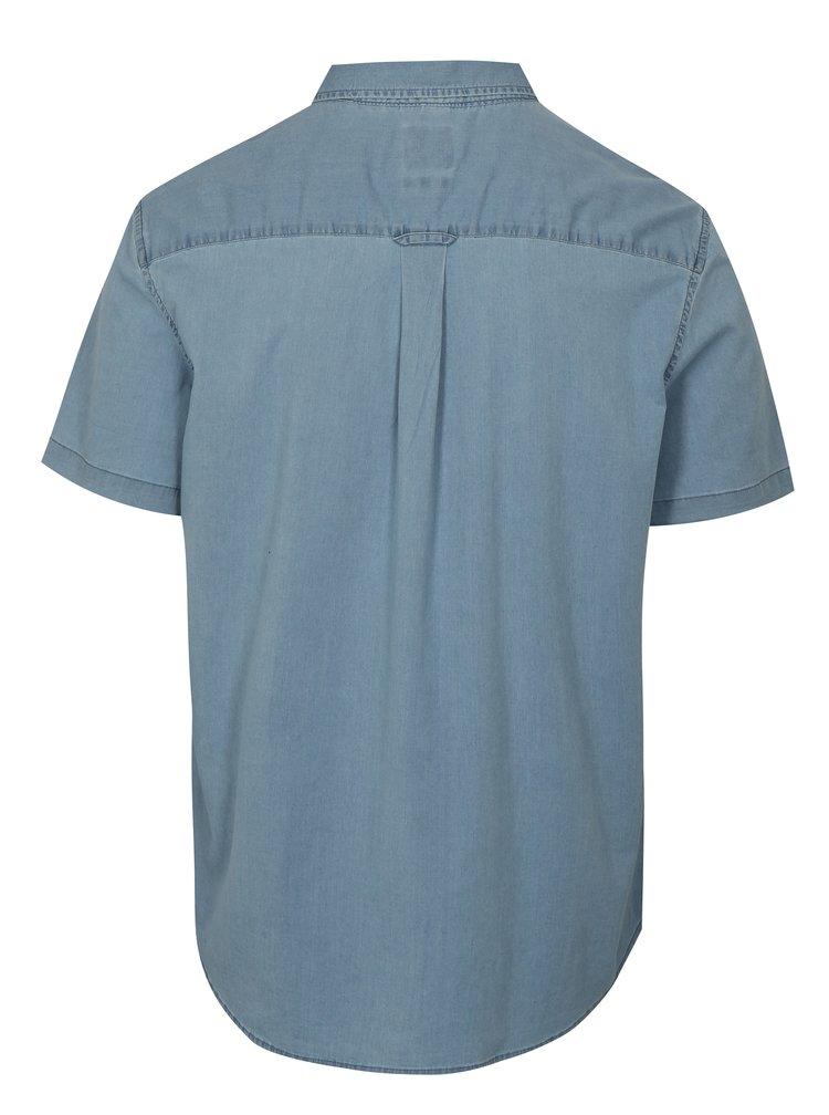 Světle modrá džínová košile Burton Menswear London