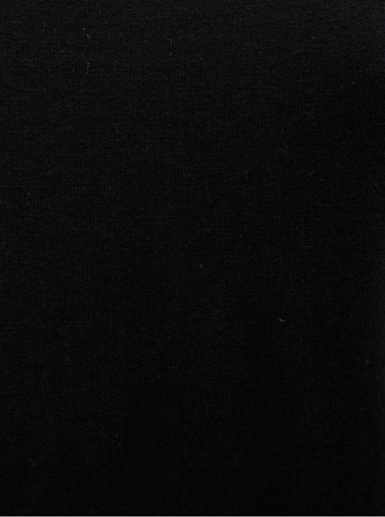 Černý svetr Selected Homme Dome