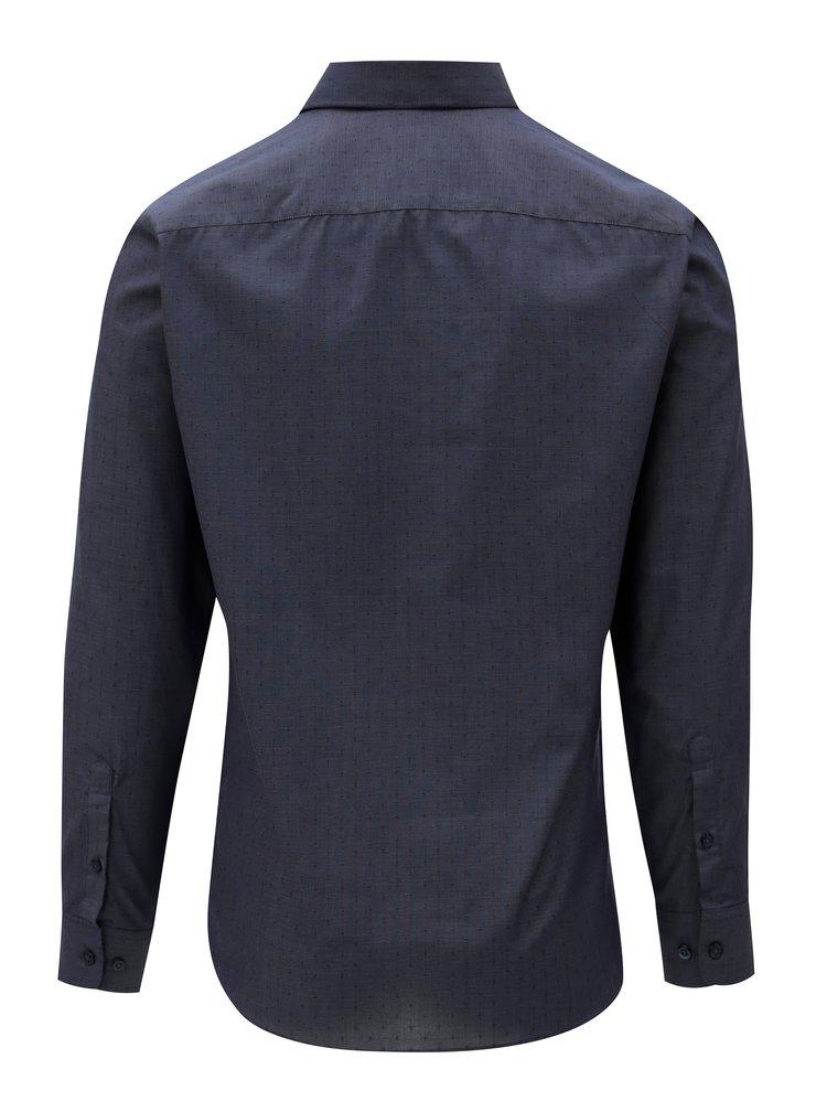 Tmavě modrá formální slim fit košile Selected Homme Preston