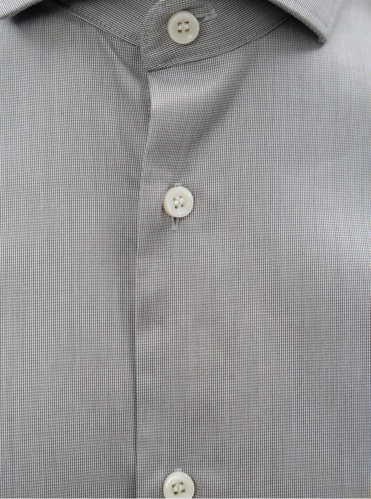 Šedá formální regular fit košile Selected Homme Regsel