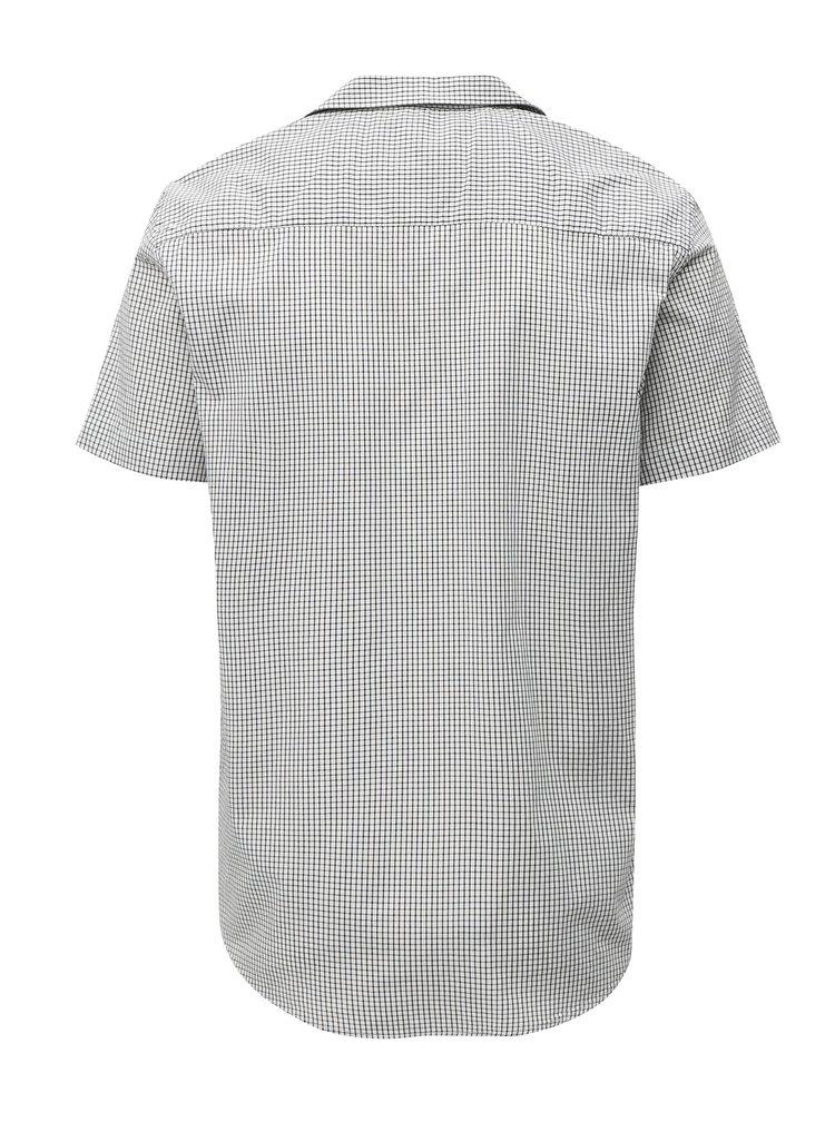 Camasa regular fit negru-alb in carouri Makia
