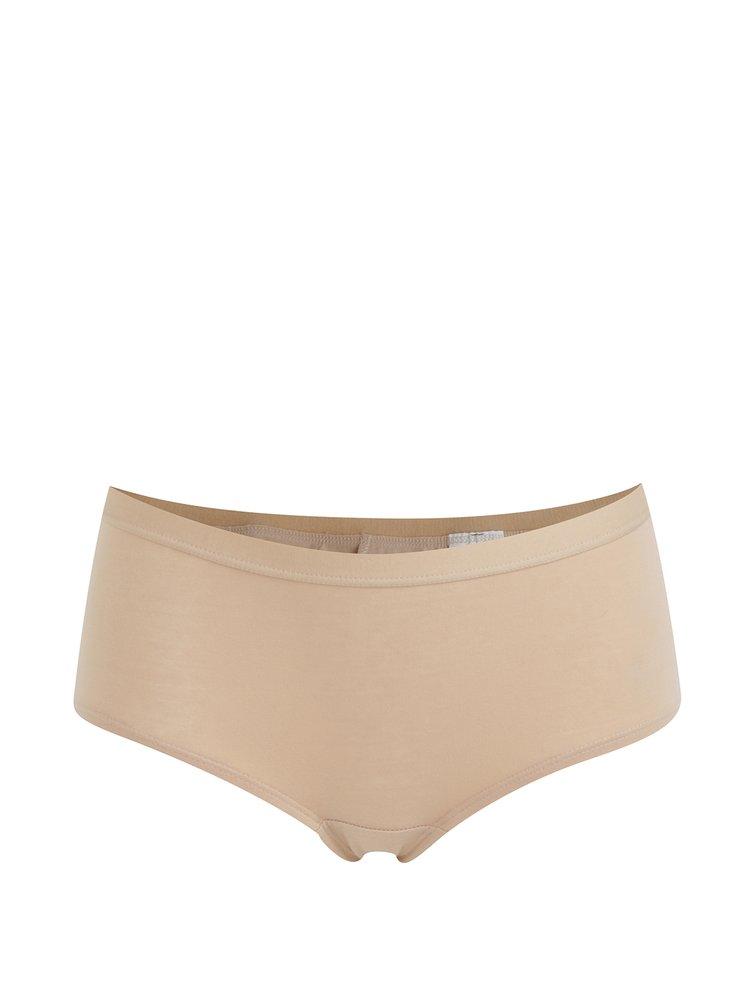 Súprava dvoch bavlnených panty nohavičiek v telovej farbe Bellinda