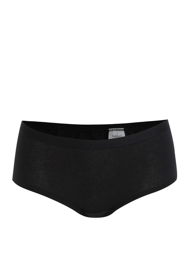 Sada dvou bavlněných panty kalhotek v černé barvě Bellinda