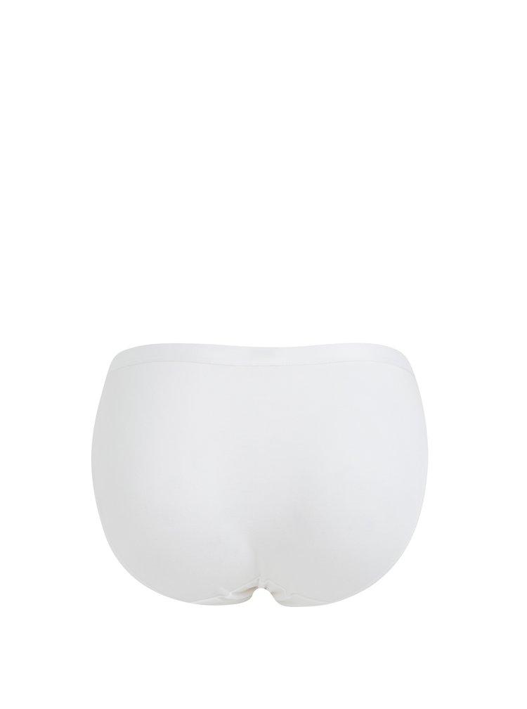 Sada dvou bílých bavlněných kalhotek Bellinda