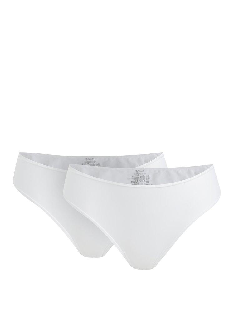 Sada dvou kalhotek v bílé barvě Bellinda