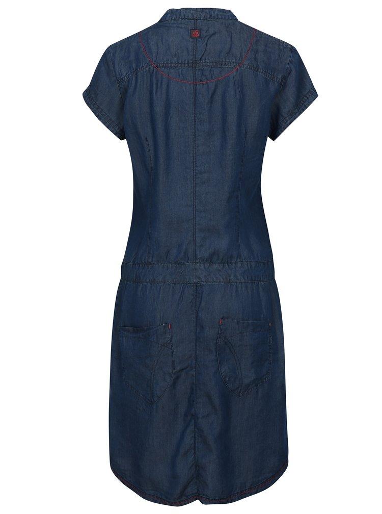 Modré košilové šaty LOAP Narelis