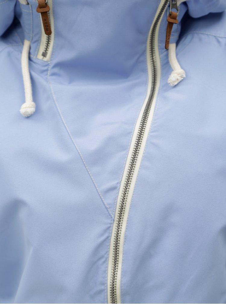 Světle modrá dámská nepromokavá bunda WOOX Ventus Urban Serenity Chica