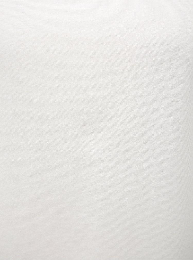 Bílé dámské tričko Broadway Farah