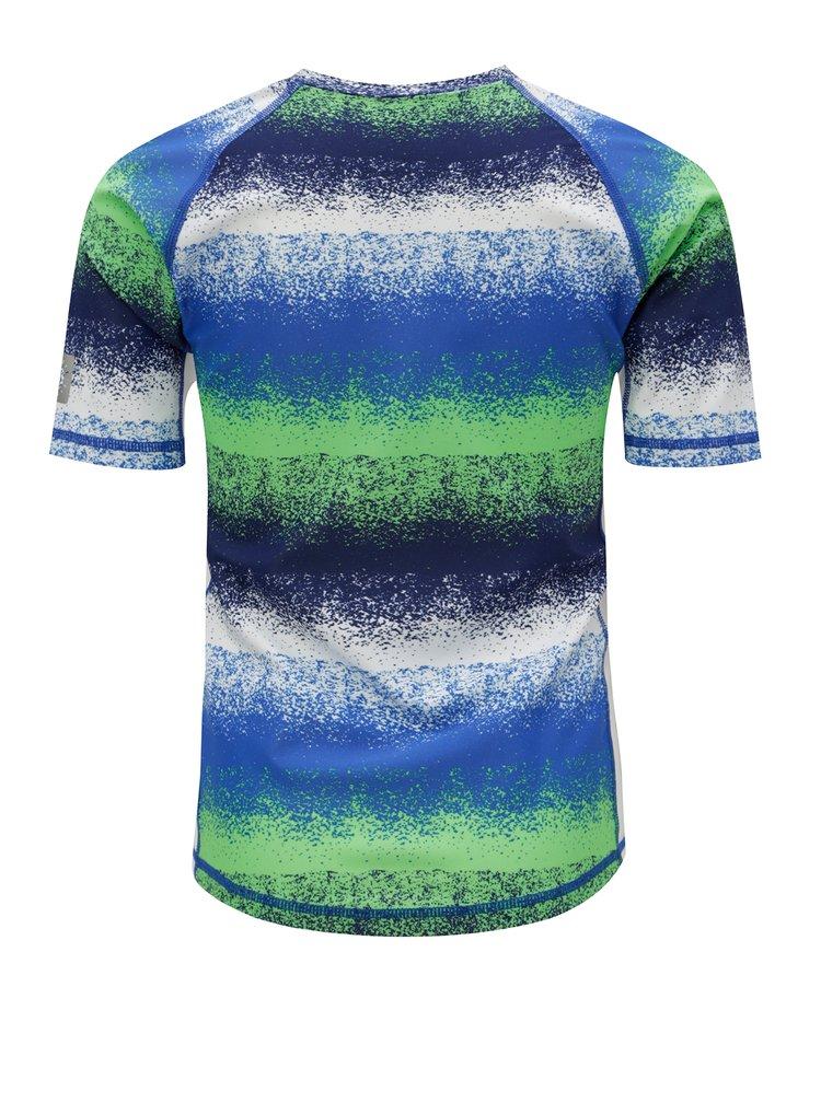 Zeleno-modré dětské plavkové tričko s UV filtrem Reima Fiji