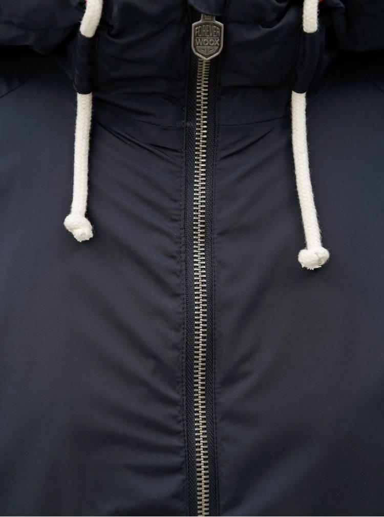 Tmavě modrá pánská nepromokavá lehká bunda WOOX Nimbus Urban Anthracite Senor