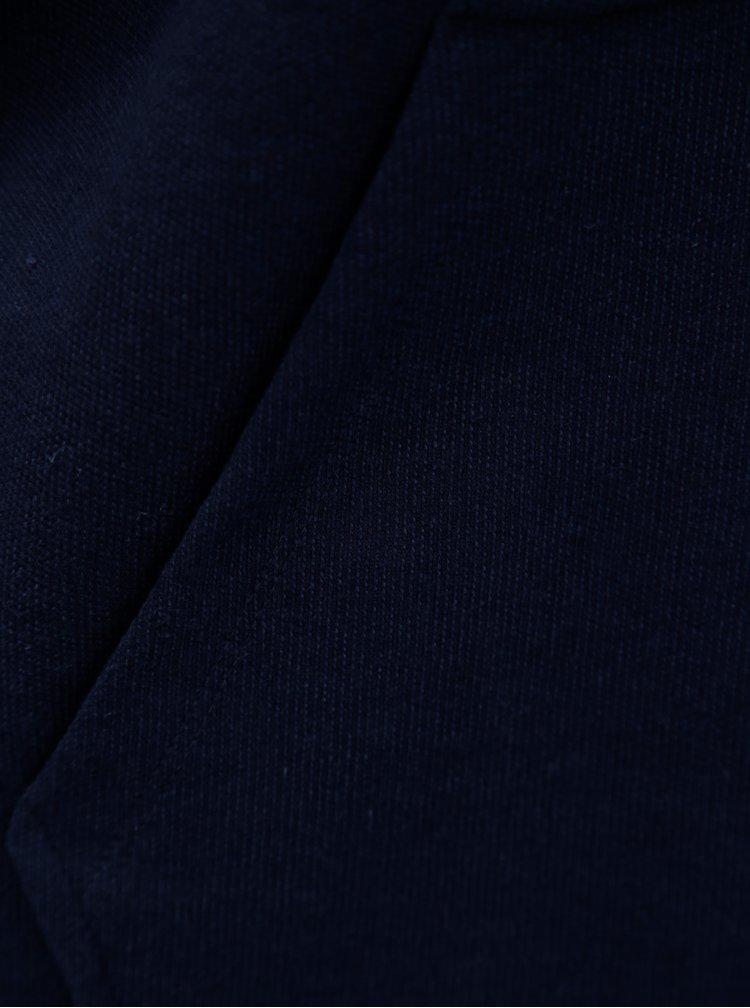 Hanorac barbatesc albastru inchis cu fermoar Broadway Ifrahim