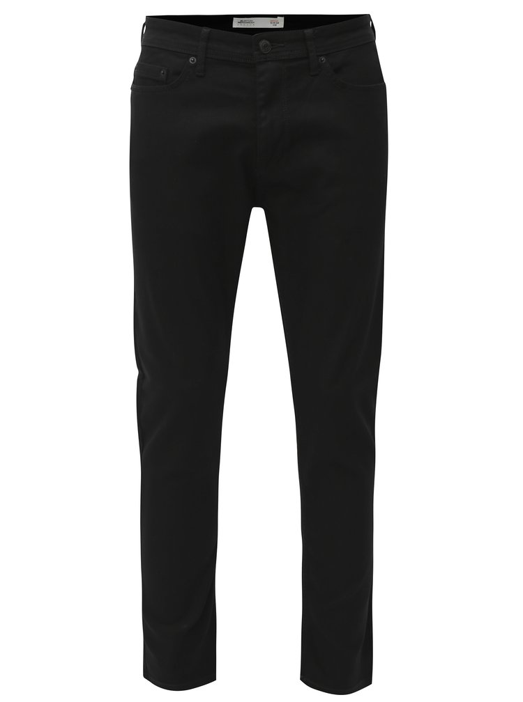 Černé slim fit džíny Burton Menswear London