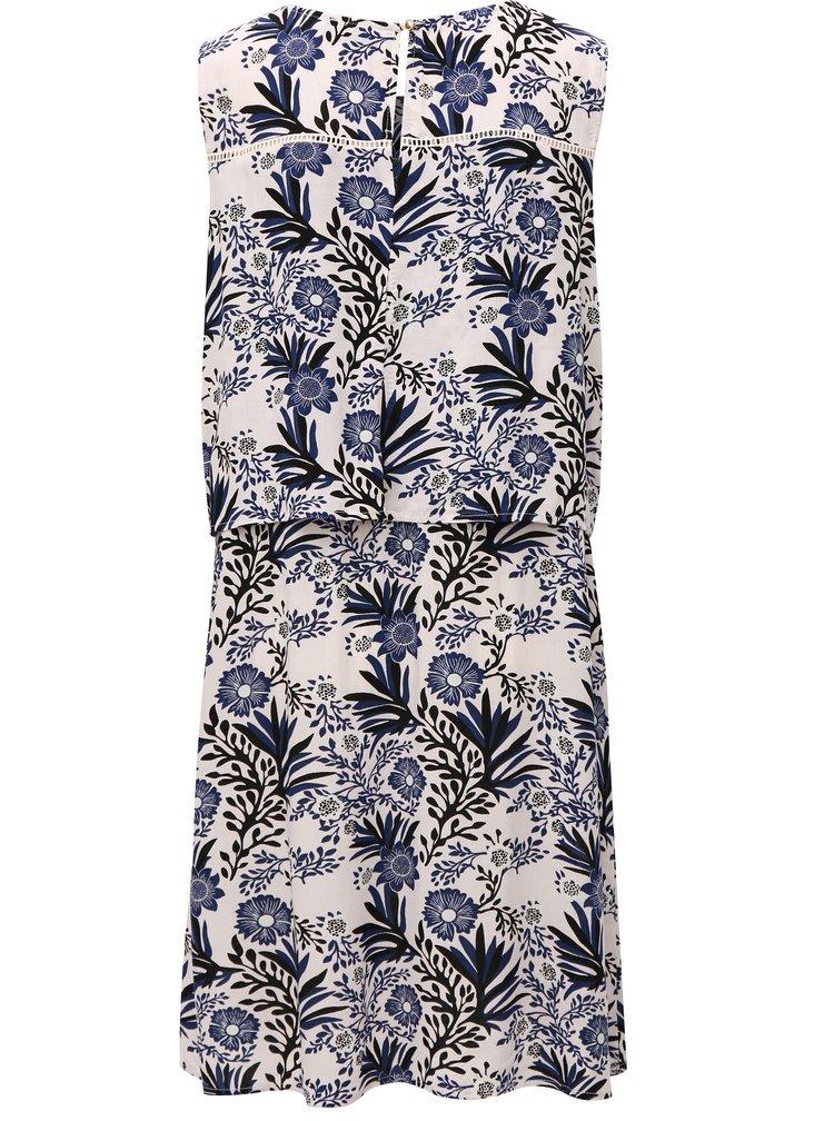 Modro-růžové květované šaty Broadway Filisha