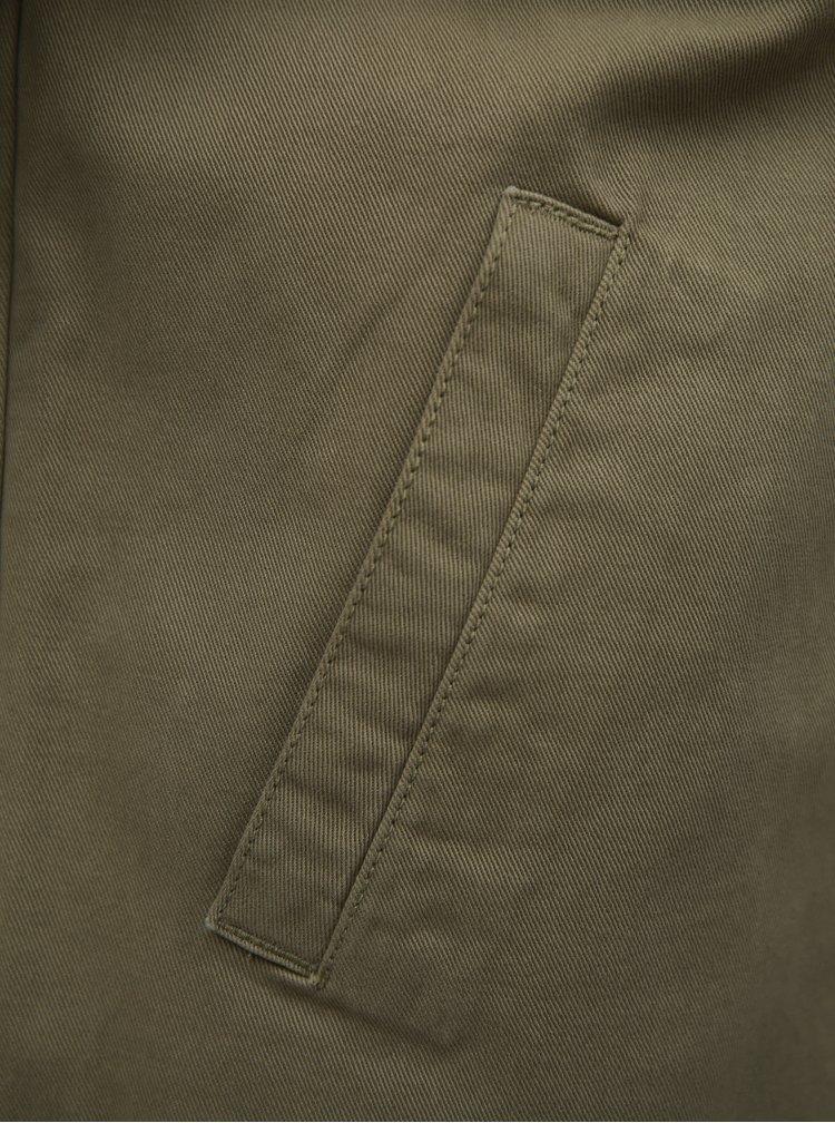 Khaki dámská džínová bunda Broadway Deja