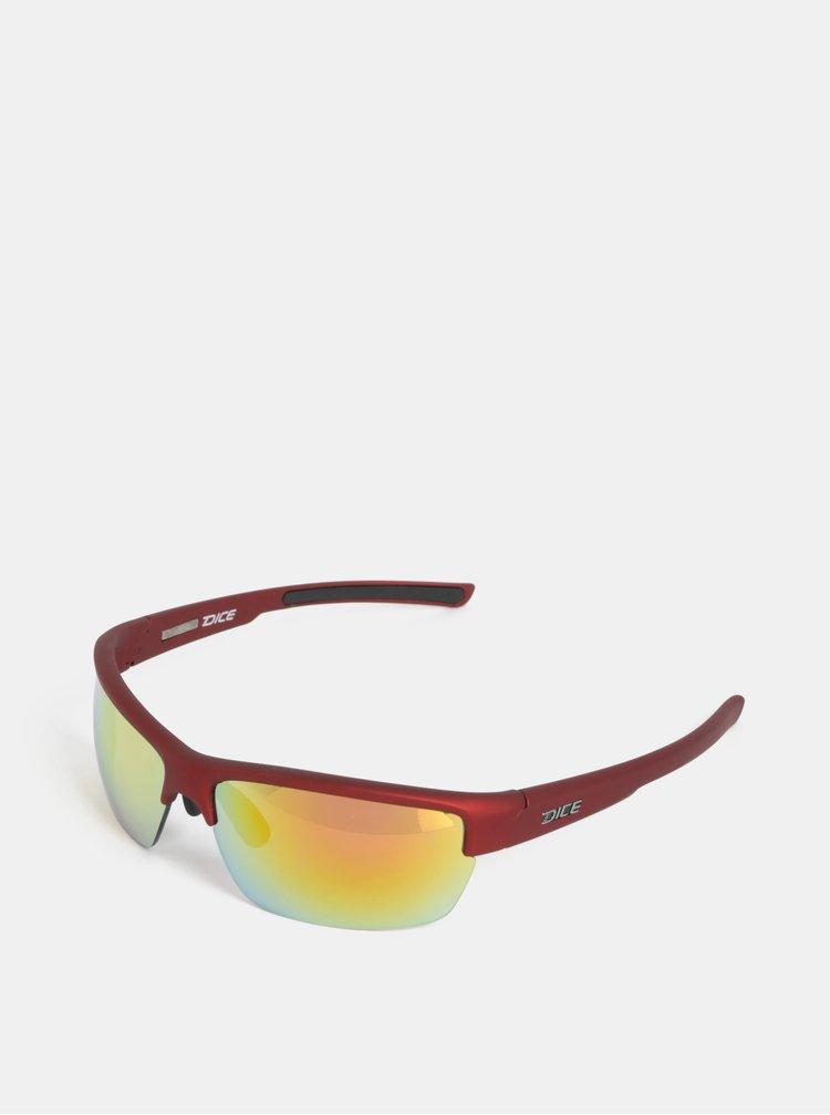Červené pánské sluneční brýle Dice Sport