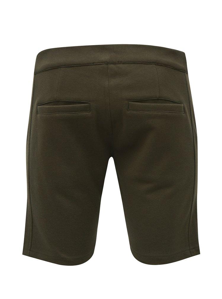 Pantaloni scurti verde Jack & Jones