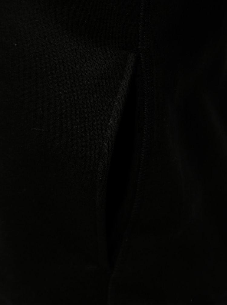 Černá pánská mikina s kapucí Stanley & Stella