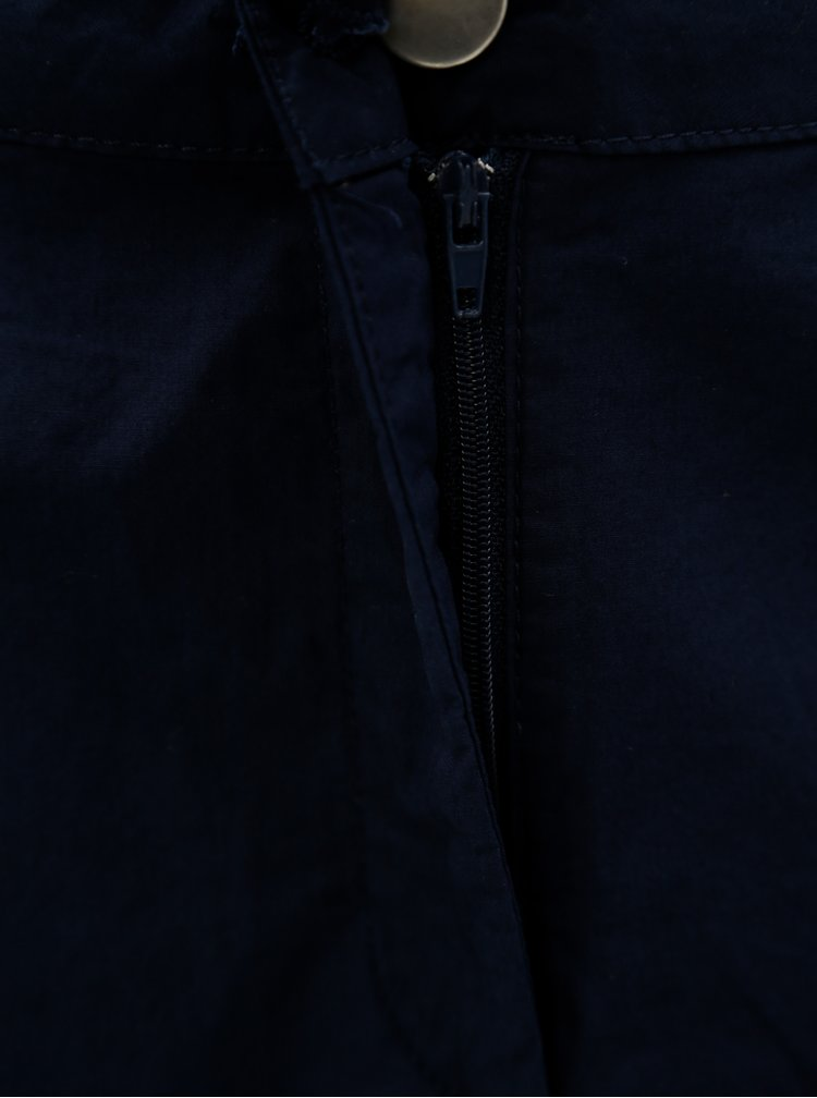 Tmavě modrá áčková minisukně Dorothy Perkins