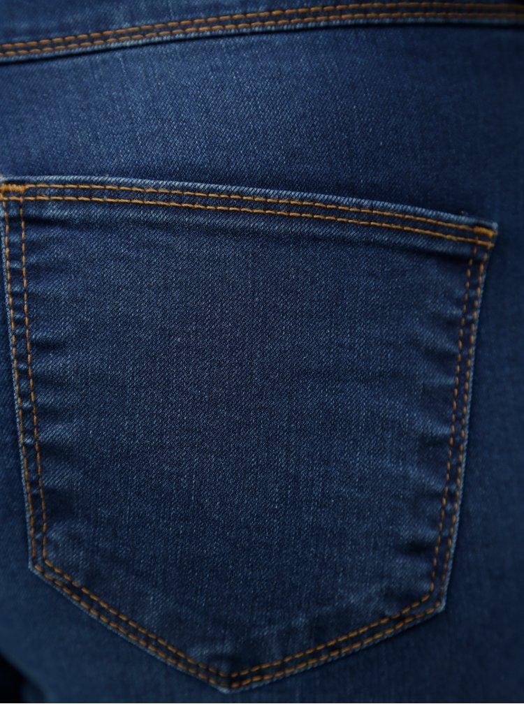 Tmavě modré skinny džíny Dorothy Perkins Ashley