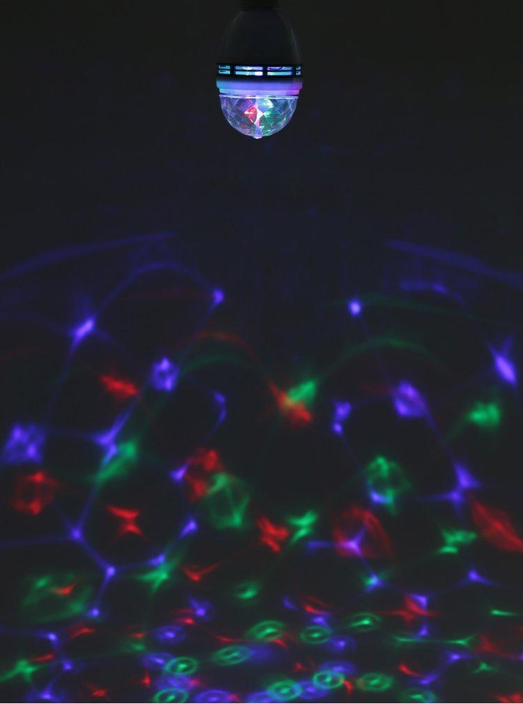 Modro-bílá disco žárovka Temerity Jones