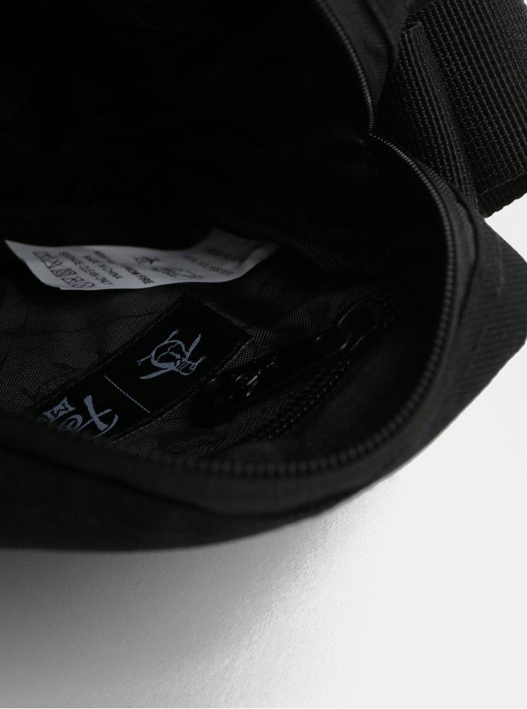 Černá malá crossbody taška Original Penguin Fiord 18 Cross Body