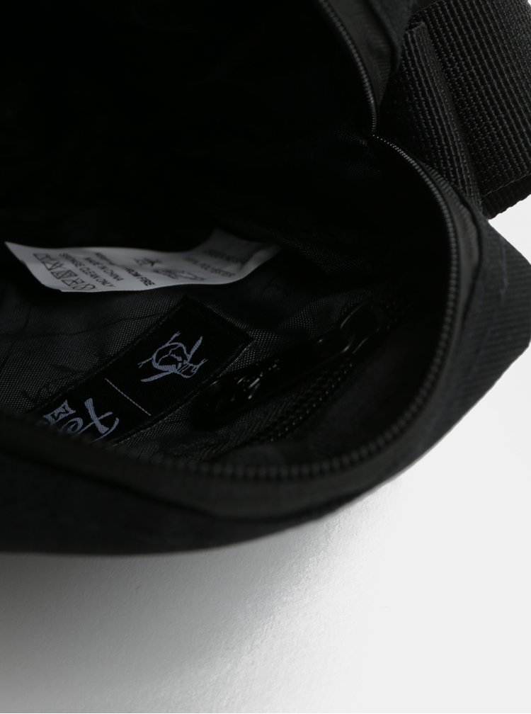Čierna malá crossbody taška Original Penguin Fiord 18 Cross Body